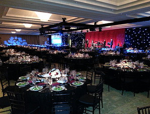 decor, lighting, entertainment, venue selection